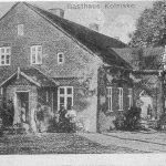 Judziki 6. Rok 1920. W tym budynku mieściła się gospoda i sklep